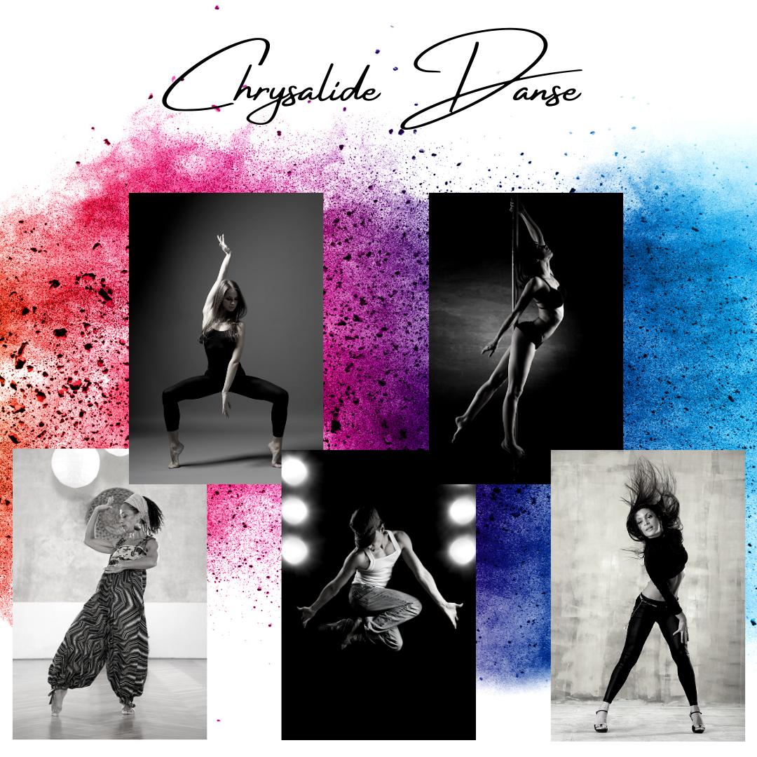 Illustration chrysalide danse