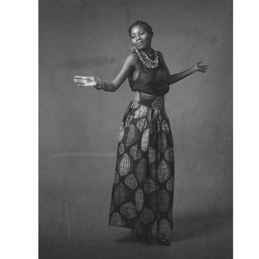 Danse africaine illustration